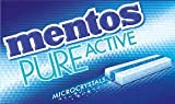Mentos Pure Active Chewing Gum - Fresh Mint - Pack of 12