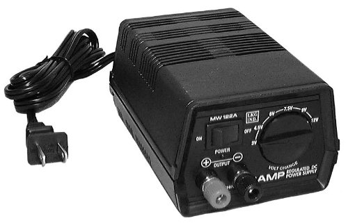 Philmore Multi-Voltage Regulated DC Power Supply : MW122A (1) (Voltage Supply compare prices)