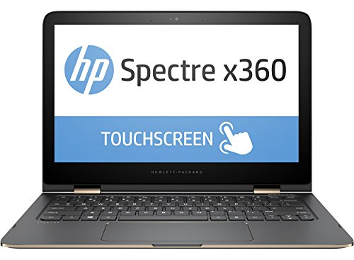 "HP Spectre x360 13-4136nl Notebook, Intel Core i5-6200U, RAM 8 GB, SSD 256 GB, Scheda Grafica Intel HD, Display Full HD 13.3"" LED IPS, Argento"
