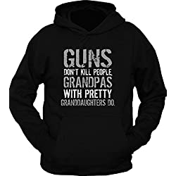 Guns Don't Kill People Grandpas Do Hoodie