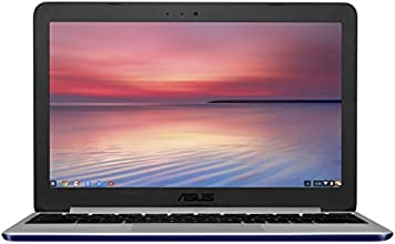 "Asus Chromebook  C201PA-FD0010 PC Portable 11,6"" Navy blue (Rockchip RK3288, 4 Go de RAM, SSD 16 Go , Chrome OS)"