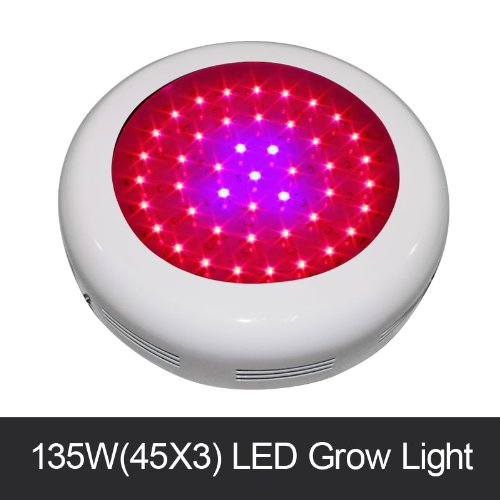Ufo Mini 135W Diy 45X3W Led Grow Light For Indoor Greenhouse Plants Growing And Flowering From Professional Manufacturer
