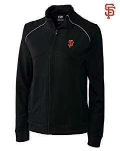 San Francisco Giants Jackets - Cutter & Buck MLB Ladies Ladies CB DryTec Edge... by Cutter & Buck
