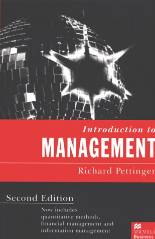 Introduction to Management, by Richard Pettinger
