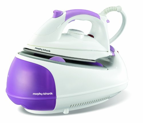 Morphy Richards Jet Steam 42244 Steam Generator with Diamond Soleplate - Purple