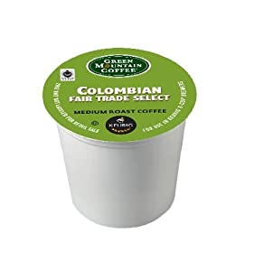 Green Mountain Colombian Fair Trade Select 96 K-Cups