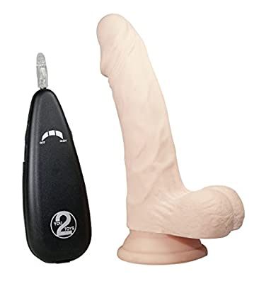 Realistixxx 7-inch RealFlesh Vibrating Dong