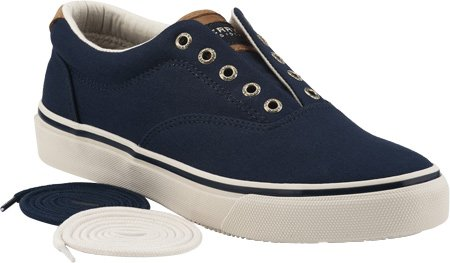 Sperry Top-Sider Striper CVO Waxed Canvas Sneaker, Blu (blu), 39.5