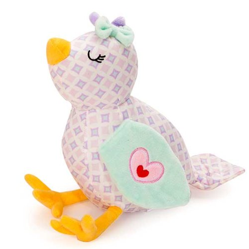 Dena Bloom Bird Plush Toy, Infant front-966827