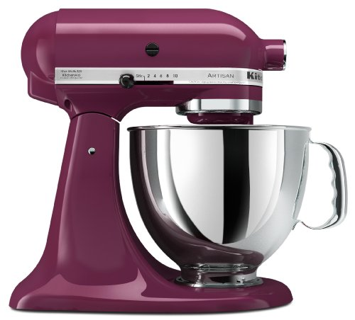 KitchenAid Artisan Series 5 Quart Tilt-Head Stand Mixer in Boysenberry Big Discount