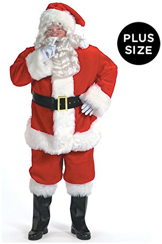 Halco Mens Professional Santa Suit (58-62) Costume