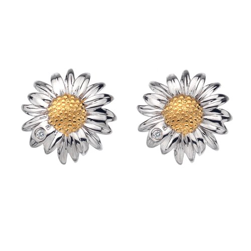 Hot Diamonds Sterling Silver Daisy Earring
