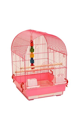 Liberta UK 50 by 28 by 40cm Rose Bird Cage, Medium