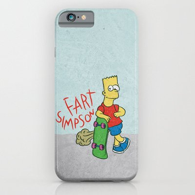 Simpsons Iphone 6 Case Amazon Fart Simpson Iphone 6 Case