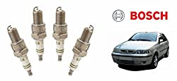 Bosch Car Spark Plugs Super 659 - Fiat Palio 1.2 P Set Of 4