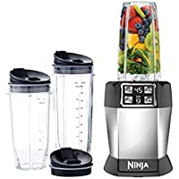 Nutri Ninja BL482 Auto iQ 1000W Single Blender - Factory Reconditioned