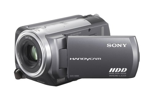 Sony DCR-SR80 60GB 1MP Hard Disk Drive Handycam with 12x Optical Zoom