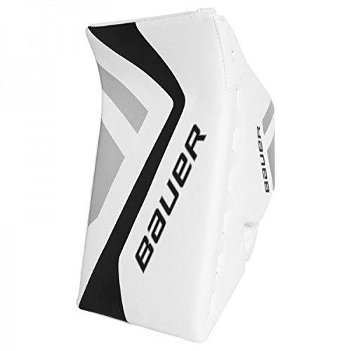 Bauer-Junior-ONE5-Blocker-WhiteBlackSilver-Regular
