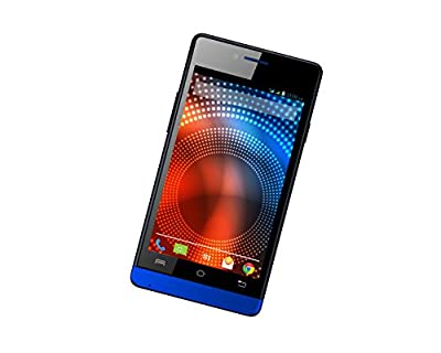 Lava Iris 444 (Black-Blue)