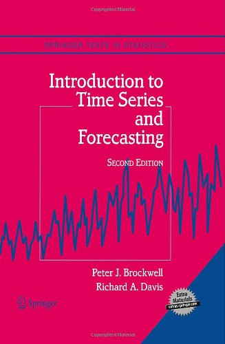 Introduction to Time Series and Forecasting (Springer...