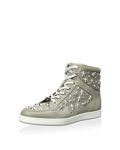 Jimmy Choo Women's Hightop Sneaker with Star Studs