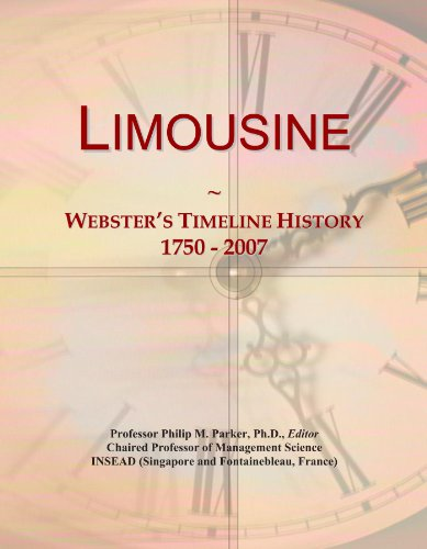 limousine-websters-timeline-history-1750-2007