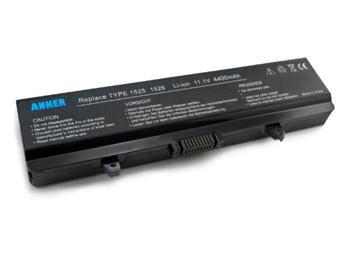 Anker New Laptop Battery for Dell Inspiron 1525 1526 1545 [Li-ion 6-cell 4400mAh]