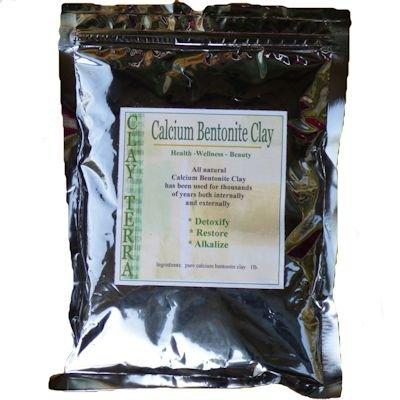 Clay Terra - Calcium Bentonite Clay 1 lb. food grade Montmorillonite green clay (Food Grade Clay compare prices)
