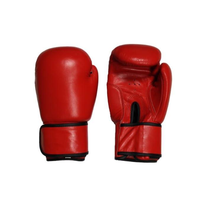 Guantoni da boxe professionale Lisaro Rosso/in vera pelle: prezzi, offerte vendita online