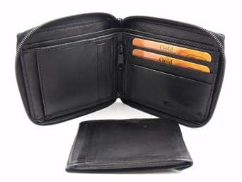The leather emporium portefeuille homme cuir souple haut for Maison classique emporium