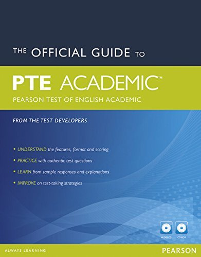 The Official Guide to PTE Academic (Pearson Test of English Academic) (Pearson Tests of English), by PEARSON