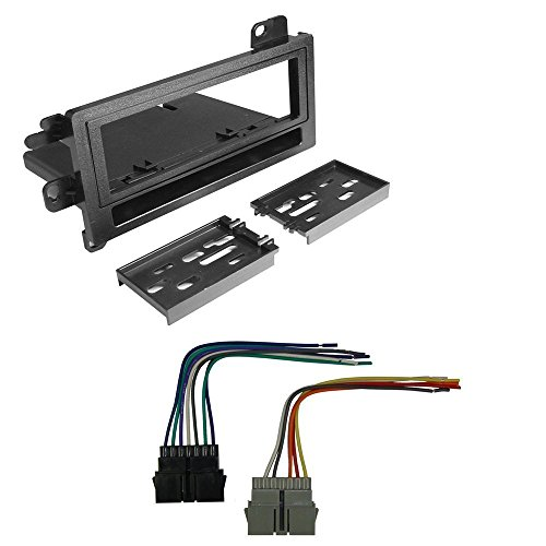CAR RADIO STEREO CD PLAYER DASH INSTALL MOUNTING KIT HARNESS DODGE EAGLE JEEP PLYMOUTH 1974-2001 (2001 Dodge Ram 1500 Parts compare prices)