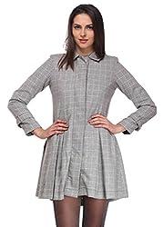 Grey Crush Overcoat