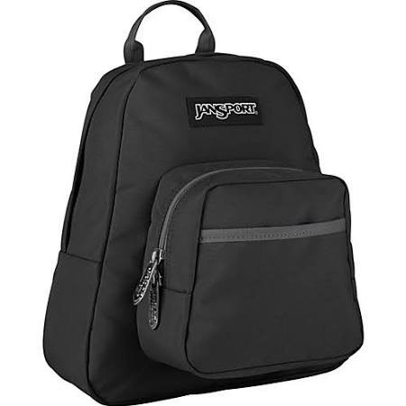 Jansport Half Pint Backpack (Black) front-444588