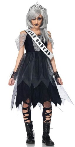 Prom Queen Teen Zombie Costume