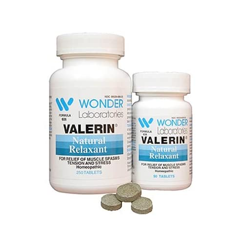 Natural Muscle Relaxers Valerin