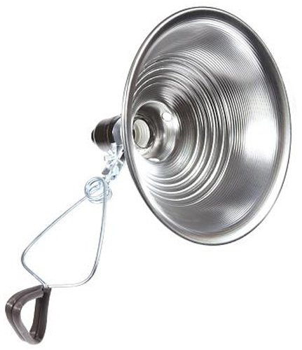 Bayco SL-300N4 8.5 Inch Clamp Light with Aluminum Reflector