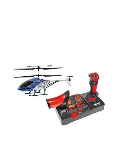 World Tech Toys 2.4GHz 3.5CH Nano Hercules Unbreakable Helipilot RC Helicopter