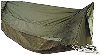 Military Style Jungle Hammock Shelter with Mosquito Netting by Ultra Force
