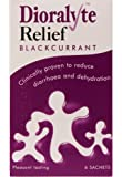 Dioralyte Relief Oral Dehydration Therapy Sugar-Free Sachets - Blackcurrant Flavour - 6 Sachets