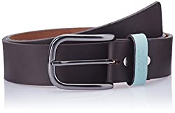 Covo Brown Leather Men's Casual Belt (BJ40LG20134)