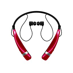 LG Electronics Tone Pro HBS-760 Bluetooth Wireless Stereo Headset - Retail Packaging - Pink