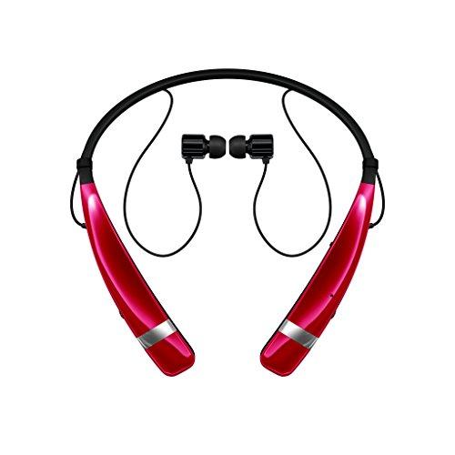 Lg - Tone Pro Bluetooth Headset - Red