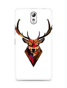 Amez designer printed 3d premium high quality back case cover for Lenovo Vibe P1M (Geometric Tibetan Antelope)