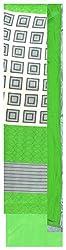 Radha Rani Women's Silk Unstitched Dress Material (Green)