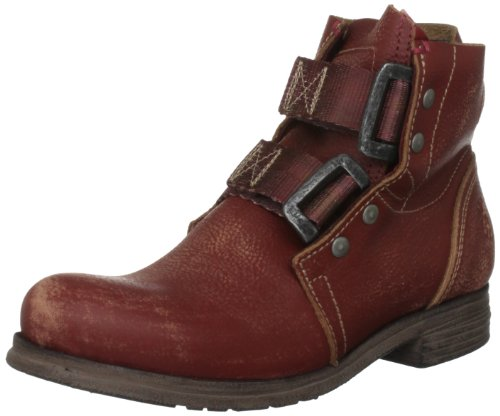 Fly London Women's Ska Red Ankle Boots P142122002 6 UK