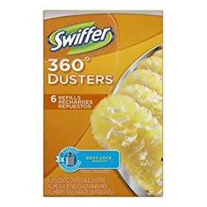 Swiffer Disposable Cleaning Dusters Refills, Unscented, 3 Handle 36 Refills , Swiffer-srrj
