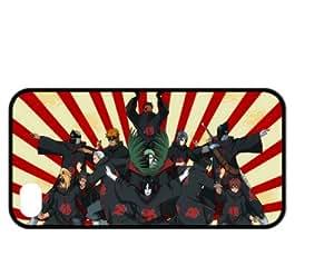 Treasure Design Naruto Bad Guys Funny Iphone 4/4s Durable Silicone Cover Case
