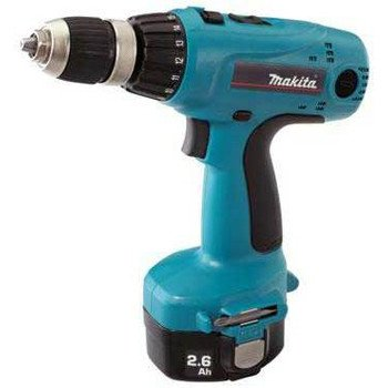 Factory-Reconditioned Makita 6337DWDE-R 14.4V Cordless MFORCE 1/2-in 2-Speed Driver-Drill Kit