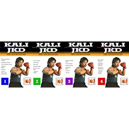 Kali JKD by Ted Luccaylucay 4 DVD Box Set